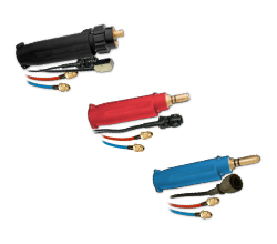Plug-in direct Compatibility Back end connectors (Lincoln, Miller, Fronius)